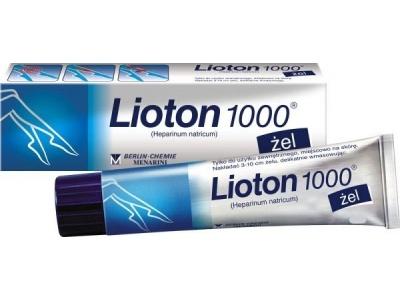 Лиотон гель при беременности