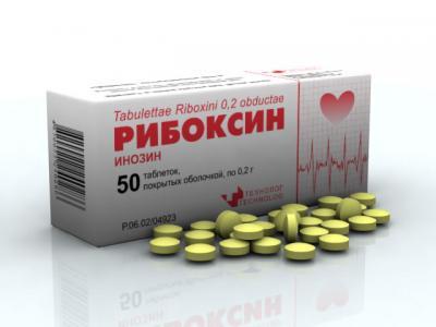 Рибоксин инструкция по применению при беременности