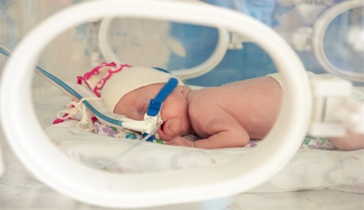 Дыхание недоношенных новорожденных