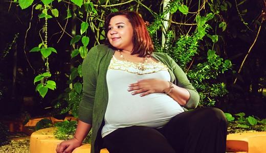 Какая грудь при беременности