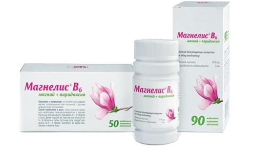 Магнелис В6 применение при беременности