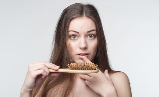 сезонный волосопад
