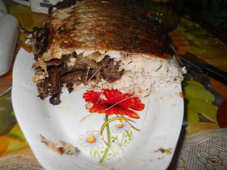 карп фаршированный пошаговый рецепт с фото