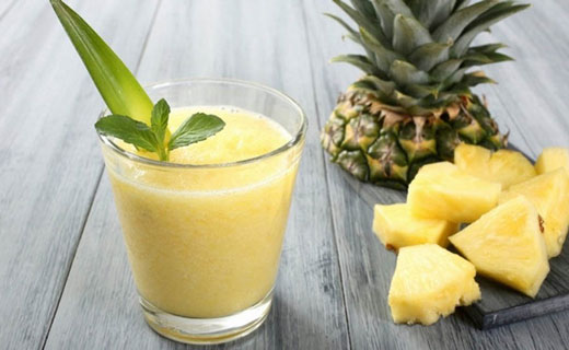 ананас с водкой