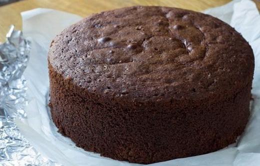 Бисквит шоколадный для торта