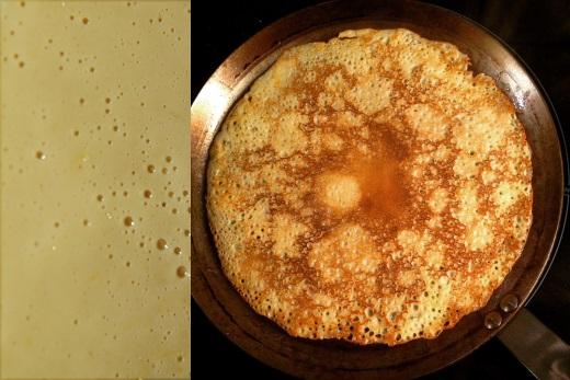 Блины на молоке и воде рецепт c фото
