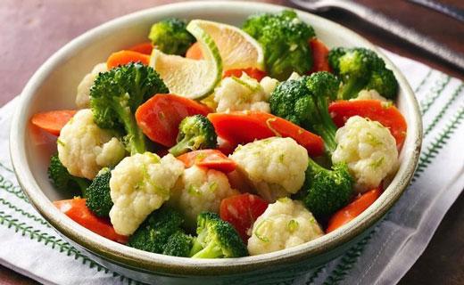 блюда из овощей