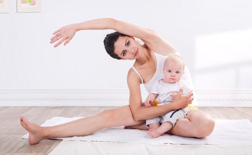 спорт для кормящих мам