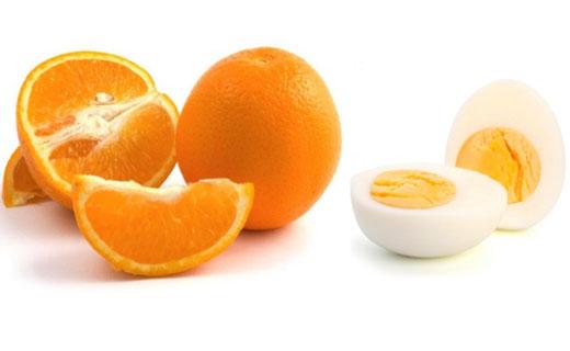 диета на апельсинах с яйцом