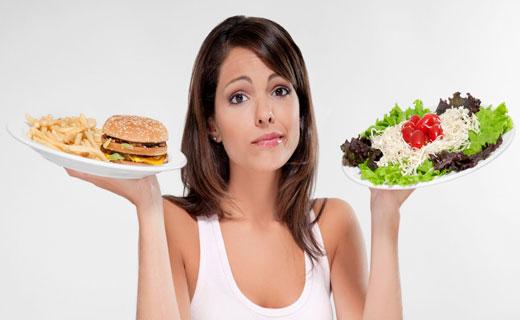 ошибки при диете