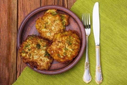 Драники из картошки рецепт простой фото