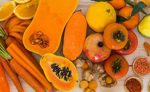 фитонутриенты оранжевого цвета