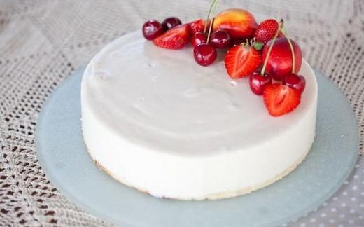 Глазурь белая для торта