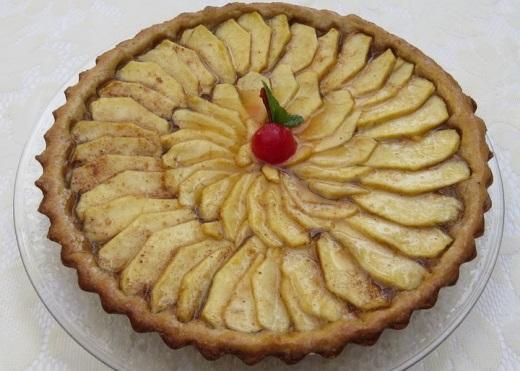 Яблочный пирог английский рецепт c фото