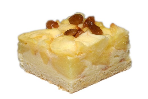 Яблочный творожный пирог рецепт c фото
