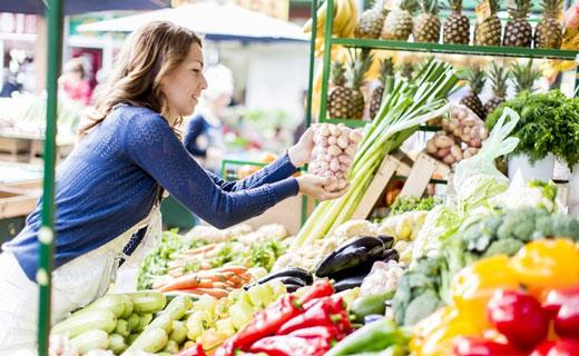 как снизить жиры и калории на рынке