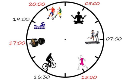 как правильно распределить время тренировок