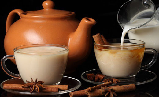 индийский чай с молоком