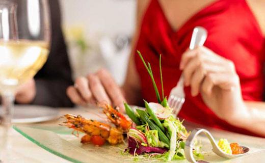 полезные блюда в ресторане