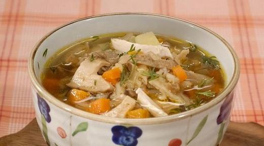 суп с грибами рецепт пошагово