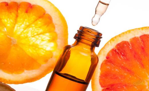 массаж с апельсиновым маслом