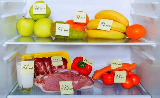 низкая калорийность продуктов