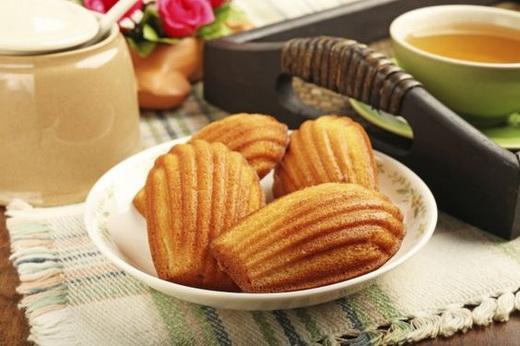 Печенье в форме на газу