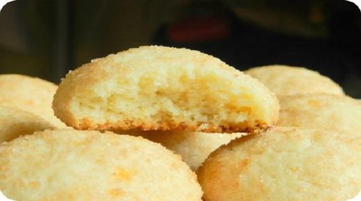 Печенье на маргарине на газу в форме