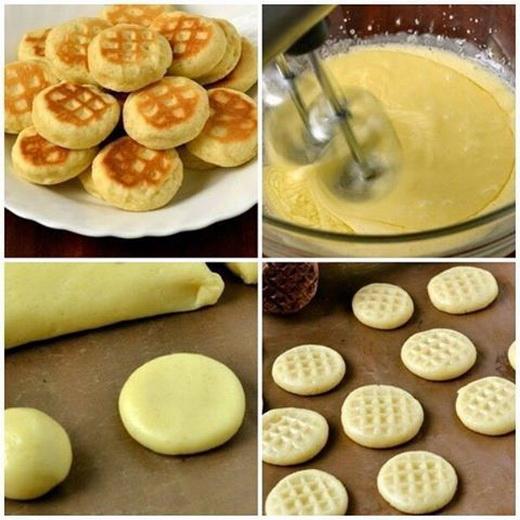 печенье на сковороде рецепт без масла