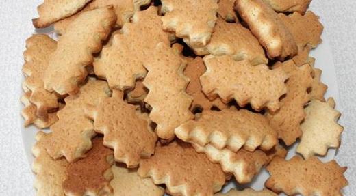 Печенье из помидорного рассола