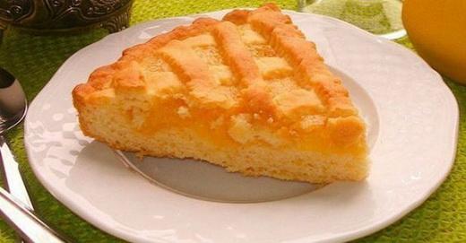 Пирог быстрый с вареньем