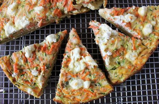 Закусочный пирог с морковной начинкой