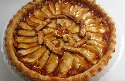 Пирог татен с яблоками