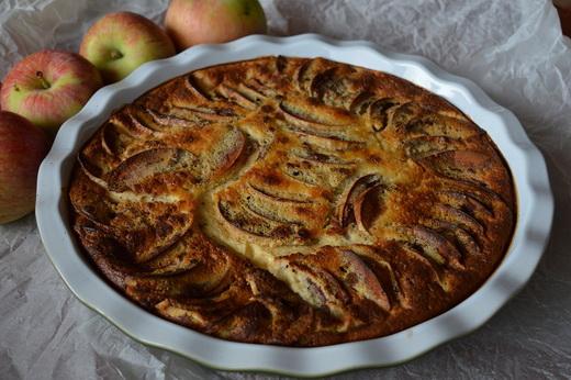 Пирог венский с яблоками