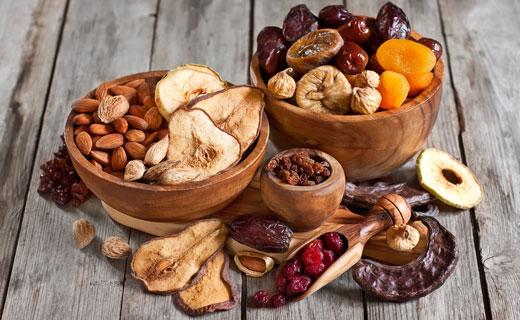 пищевая ценность сухофруктов