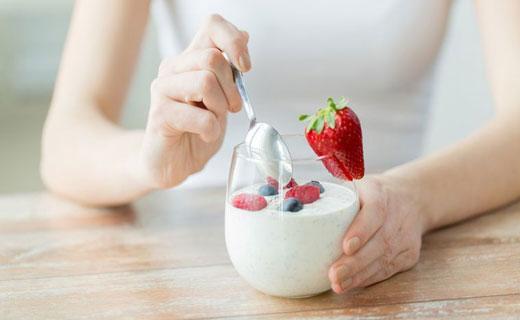 польза йогурта при похудении