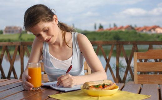 ведение дневника питания