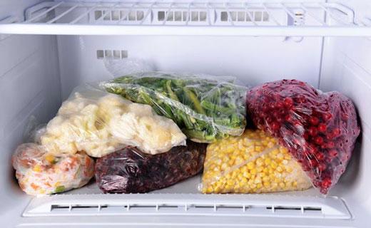 продукты из морозилки