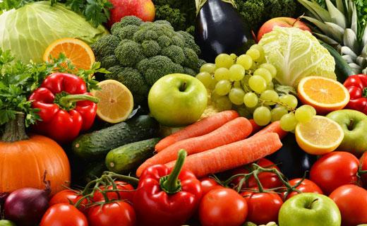 преимущества овощей и фруктов