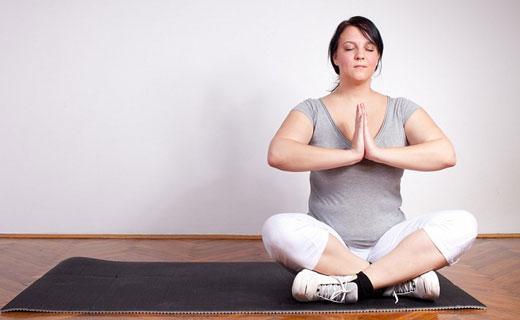 регулирование веса в йоге