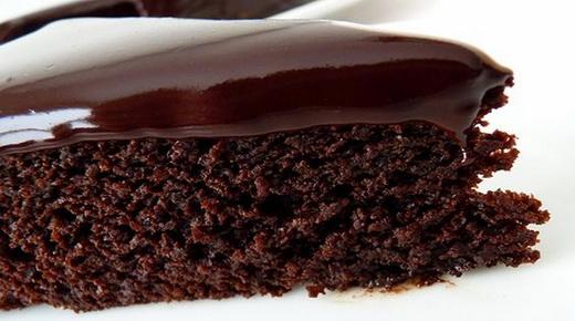 Ромовый шоколадный пирог