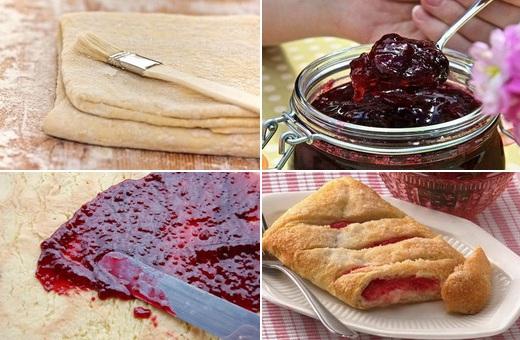 Рецепты пирога с вареньем с пошаговыми фото
