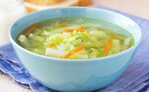 суп из сельдерея и капусты
