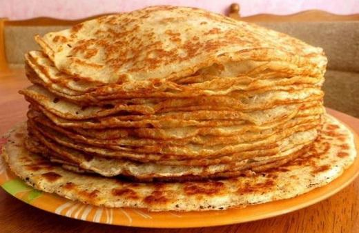 Тесто на кукурузной муке для блинов