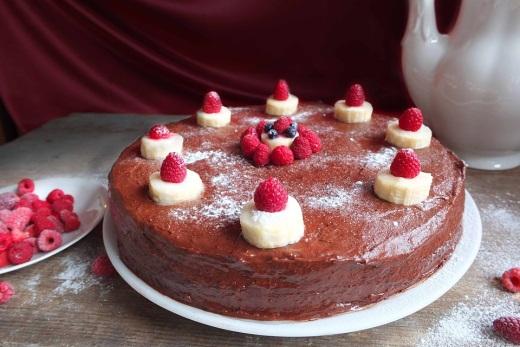 Бисквитный торт с заварным кремом рецепт c фото