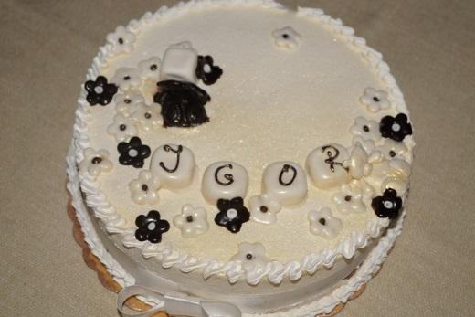Бисквитный торт с маскарпоне рецепт c фото