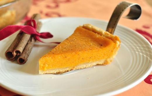Пирог лимонный из тыквы