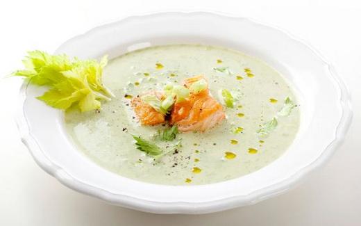 Суп из семги со сливками рецепт