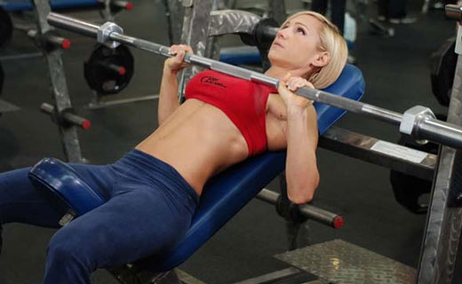упражнения для мышц груди
