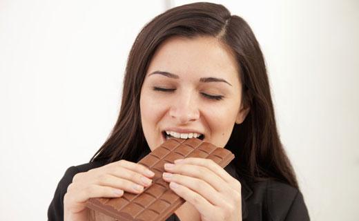 когда есть шоколад